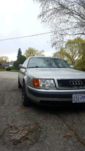 1992 audi s4 new tires and a bunch of other things