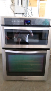 Whirlpool gold series microwave wall oven
