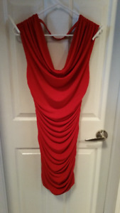 Ladies Red Evening Dress