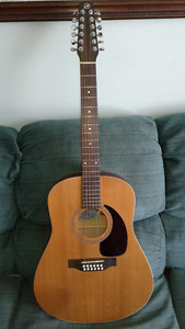 Seagull 12 string acoustic, trade for electric guitar