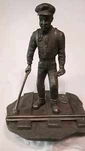Franklin mint pewter collection railroad man +