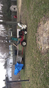 16 hp Roper tractor with snowblower and deck