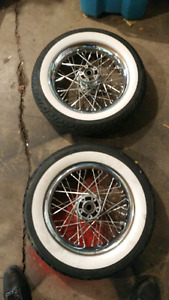 harley davidson softail tires and rims