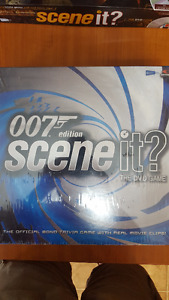Scene it! DVD Board Games (007 and Pirates of the Caribbean)