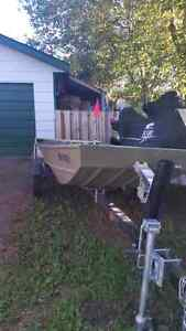 2014 Jon Boat 14 foot 55 inches wide
