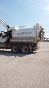 Vacuum truck Freightliner FL80  with Vactor 2100 Pickup Truck