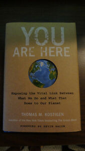 You Are Here - Thomas M. Kostigen/Hardcover/Never Read/New