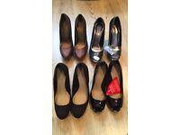 NEW unworn Ladies size 5 heels (wife's not mine)