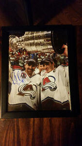 AUTOGRAPHED RAY BOURQUE PICTURES