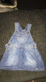 Levi's denim dress 1.5years