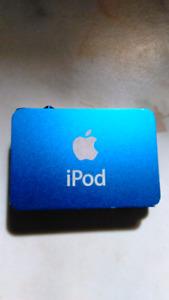 Blue IPod Shuffle 2nd Generation