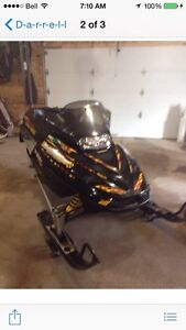 Mxz 500 snowmobile to sell or trade in on small car
