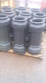 300 NEW HALF PRICE chimney pots reclaimed