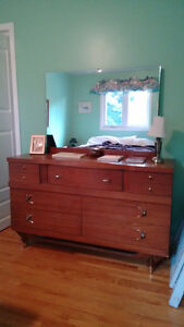 Vintage Dresser with large Mirror