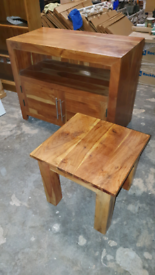 TV unit and small matching table