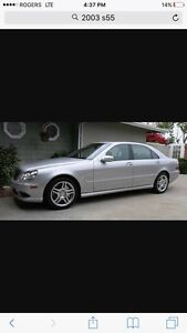 2003 Mercedes Benz S55 AMG *** Parts Only**
