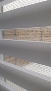 High quality zebra blind -white translucent