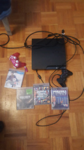 ps3 with a few games