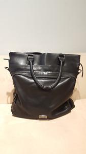 Oroton Black Leather Tote bag