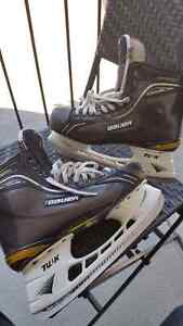 Patin Glace Ice Skate Bauer Supreme Total One pointure 11 size
