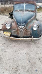1940 Chevrolet sedan SpecialDeluxe all orginal $2975Wpg/MB