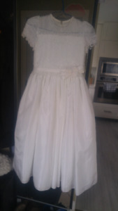 Beautiful Communion Dress Size 8