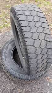 LT245/75R16 BF Goodrich Commercial T/A tires for sale