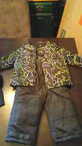 "Boys size ""2 years"" snow pants and jacket"