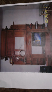 Antiques fireplace