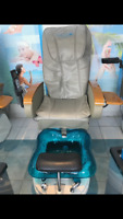 6 Spa pedicure Chairs
