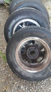 245/70r17 set of 4 1000 kms of use total terrain standard rating