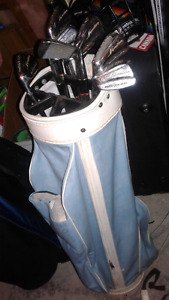 Ladies golf club set left handed