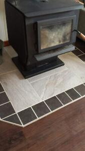 Porcelain Stoneware Tile 34sq ft