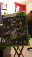Injustice game for xbox 360