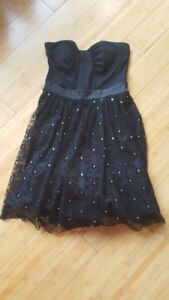 Med strapless ladies dress