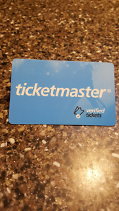 $250.00 Ticketmaster Gift Card selling