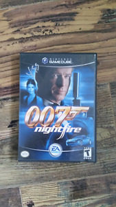 Jeu de Game Cube  - James Bond 007 Nightfire - En bon état