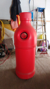 Recycle bottle container