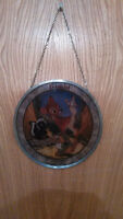 Walt Disney Bambi 55th Anniverasy Stained Glass/ Vitraille