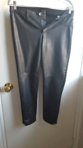 Banana Republic leather pant