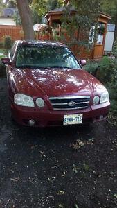 2006 Kia Magentis Sedan