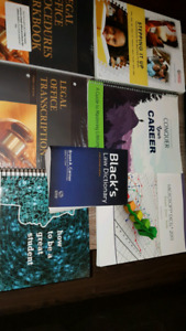 Eastern College Paralegal Text Books