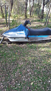 Yamaha SS 440's (2 machines one low price) Great Beginner Sleds Strathcona County Edmonton Area image 1