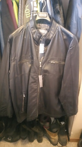 Brand New Men's 2xl leather jacket