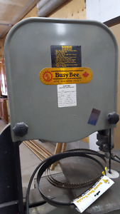"""Busy Bee 14"""" bandsaw"""