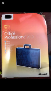 Microsoft Office Professional 2010 - brand new