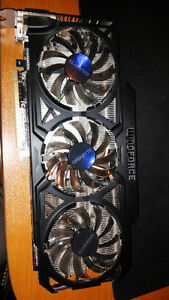 Gigabyte GV-R9290OC Windforce GPU Kitchener / Waterloo Kitchener Area image 1