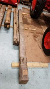 Barn Beams Lumber Rough Hewn Gorgeous - $12 running ft