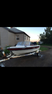 Starcraft Boat with a newer 90hp Evinrude