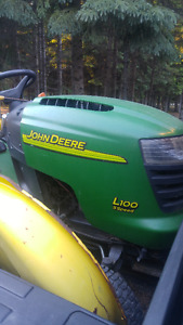 Broken Down John Deere L100